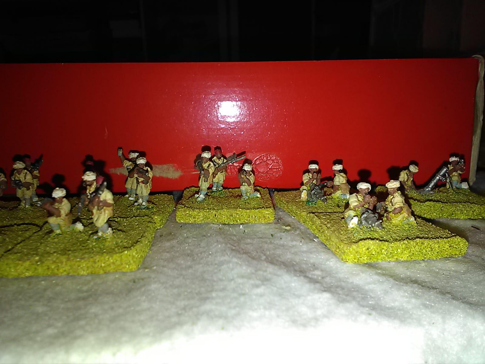 Son miniaturas de Barcino miniaturas