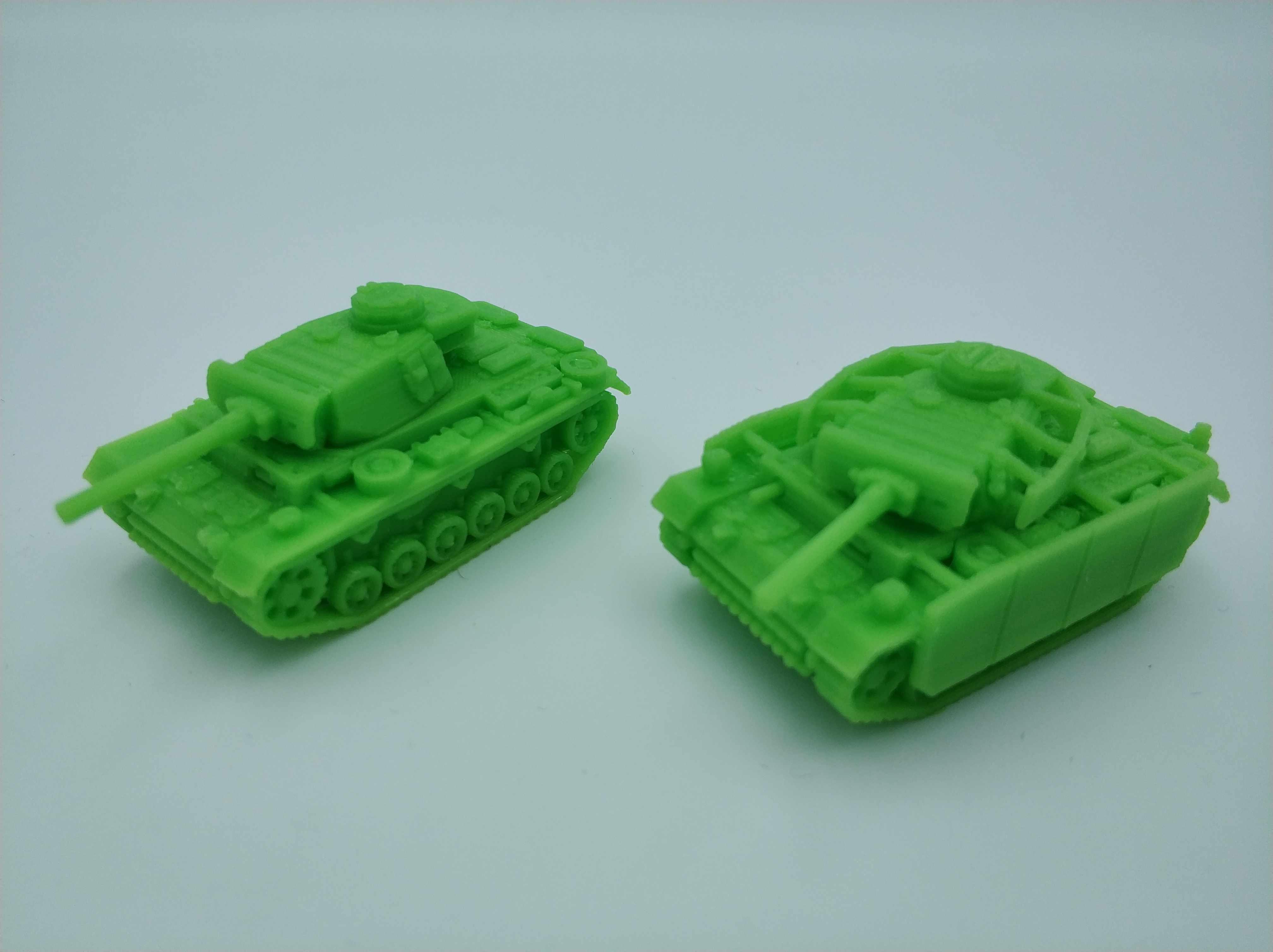 Así es como casi salen de máquina, se han retirado los soportes de impresión pero salen limpios.